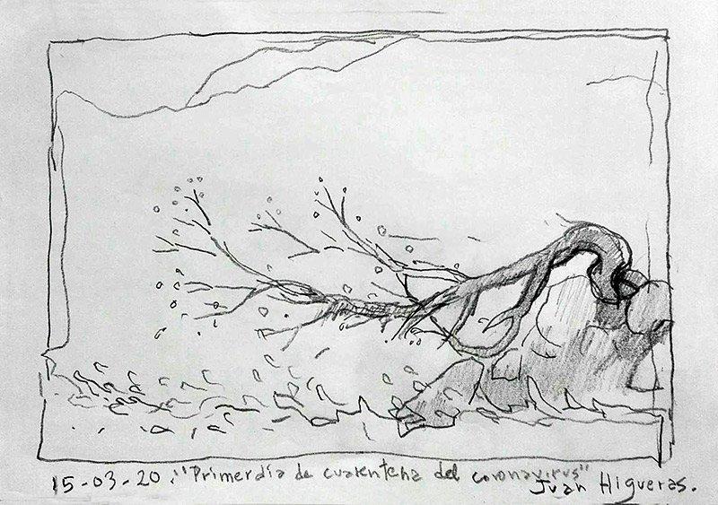 Juan-Higueras-Primer-dia-de-cuarentena