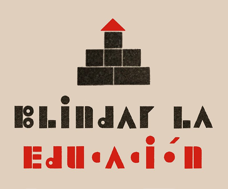 Mariana Laín-Blindar la Educación