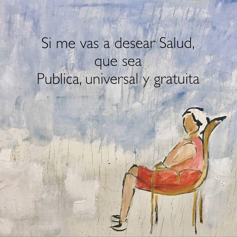 Marisol Salinas Cruz Si me deseas salud
