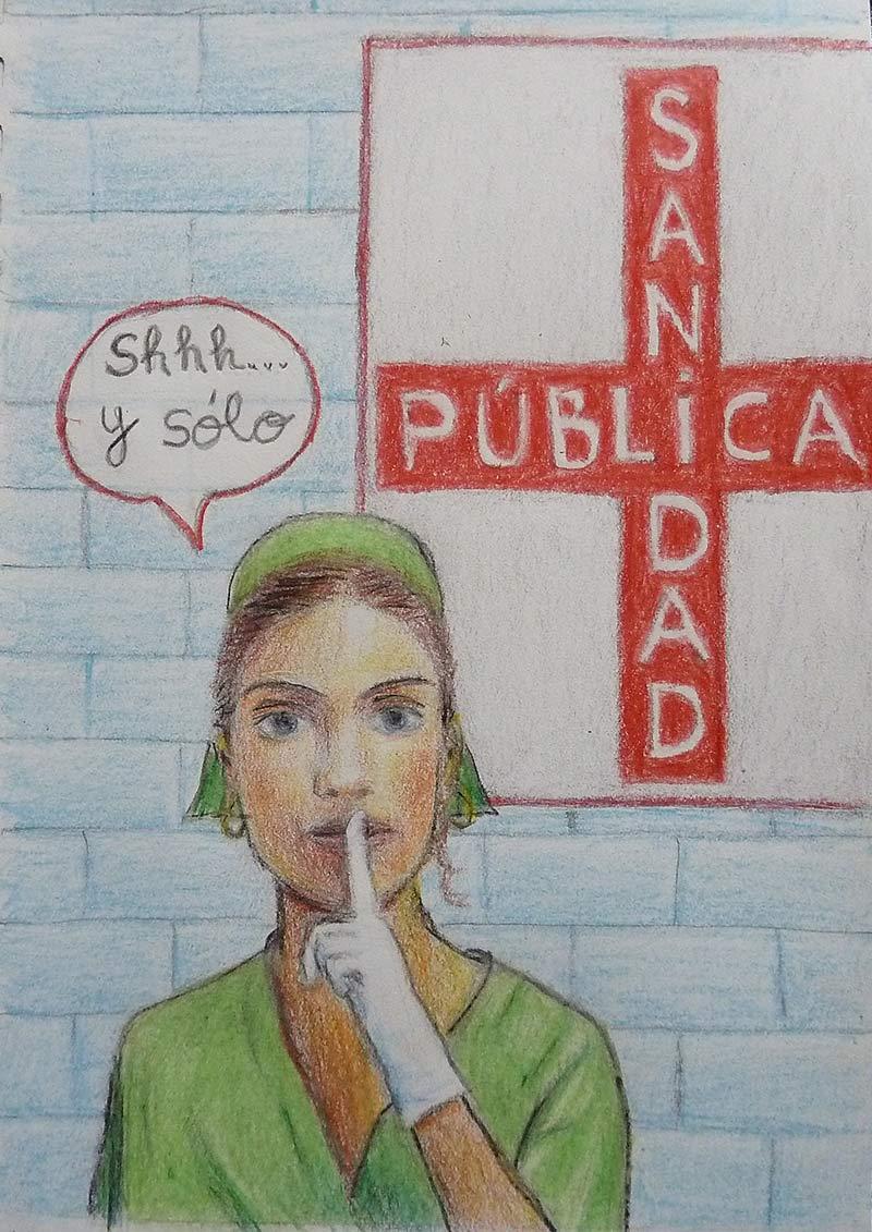 Monica-Dixon-Shhh-y-solo-Sanidad-Publica